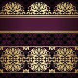 Floral border. Abstract flower background Stock Photo