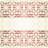 Floral border. Abstract flower background. Stock Photography