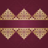 Floral border. Abstract flower beckground Royalty Free Stock Image