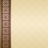 Floral border. Abstract flower beckground Royalty Free Stock Images