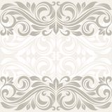 Floral border. Abstract flower beckground. This is file of EPS10 format Stock Image