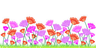 Floral border Royalty Free Stock Photo