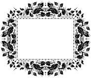Floral border design royalty free stock image