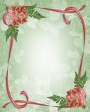 Floral Border Design Azaleas Stock Images