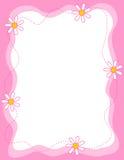 Floral border / frame vector illustration