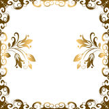 Floral Border Frame Stock Photos