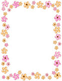 Floral Border / frame Royalty Free Stock Photos