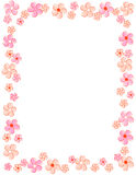 Floral border / frame Royalty Free Stock Photography