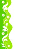 Floral border - Green Royalty Free Stock Photo