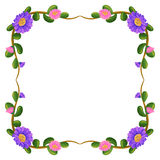 A floral border Royalty Free Stock Image