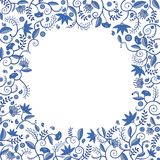 Floral border pattern Royalty Free Stock Image