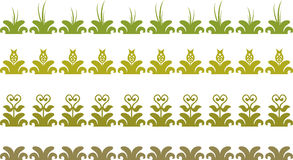 Floral border Royalty Free Stock Image