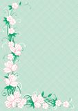 Floral border Royalty Free Stock Photos