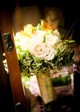 Floral bouquet. Floral arrangement for the bride or godfathers, godmothers Royalty Free Stock Image