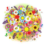 Floral bouquet beautiful for your design Royalty Free Stock Photography
