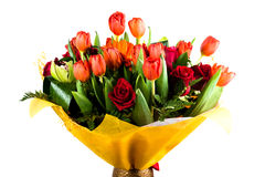 Floral bouquet of different flowers Royalty Free Stock Images