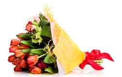 Floral bouquet of different flowers Stock Photography