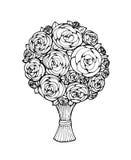 Floral bouquet Stock Images