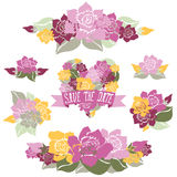 Floral bouquets Royalty Free Stock Images