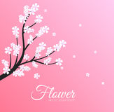 Floral branch background concept. Vector Stock Photography