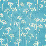 Floral branch seamless pattern Royalty Free Stock Photos