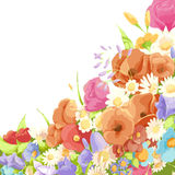 Floral bright background Royalty Free Stock Photos