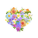 Floral bright background Stock Photography