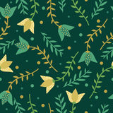 Floral bright pattern Royalty Free Stock Photo