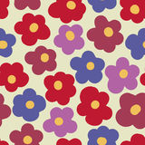 Floral bright pattern Royalty Free Stock Photos