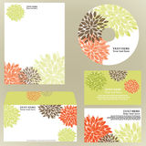 Floral business template. Easy to rdit Stock Photo