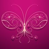 Floral Butterfly Royalty Free Stock Image