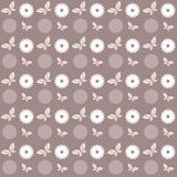 Floral butterfly pattern Stock Photos