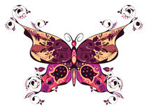 Floral Butterfly Stock Images