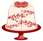Floral Cake Royalty Free Stock Photo