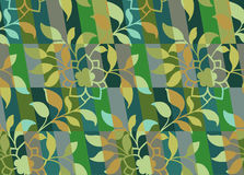 Decorative camouflage pattern seamless Stock Image