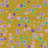 Floral canvas for background royalty free stock images