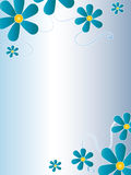 Floral card Stock Images