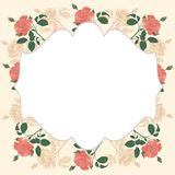 Floral card for any occasion. Royalty Free Stock Photo