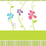 Floral card Royalty Free Stock Photo