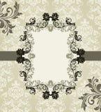 Floral card design Stock Photos