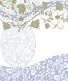Floral card design Royalty Free Stock Photos