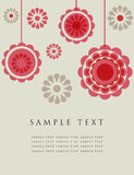 Floral card with place for text Stock Images