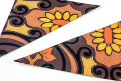 Floral cardboard Stock Images