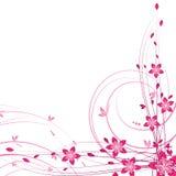 Floral cards stock illustration