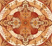 Floral carpet vector Stock Image