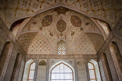 Floral ceiling. Ceiling of an old persian palace Stock Images