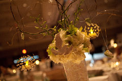 Floral Centerpiece Stock Photo
