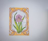 Floral ceramic in lagos Stock Images