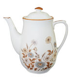 Floral China Teapot Royalty Free Stock Image