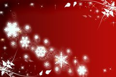 Floral Christmas background royalty free stock photo